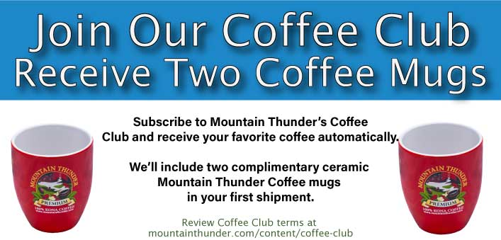 Free Mugs with Membership