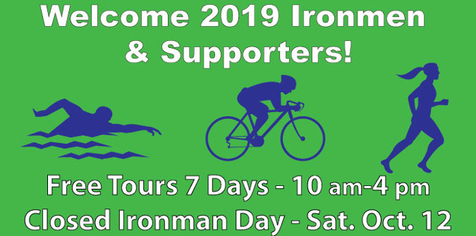 Farm closed Ironman day Saturday Oc 12
