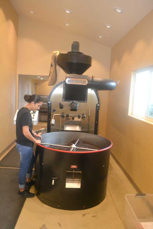 kona coffee roast master