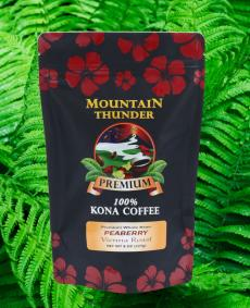 100% kona peaberry 8oz